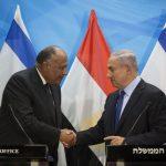 Sameh Shoukry and Netanyahu